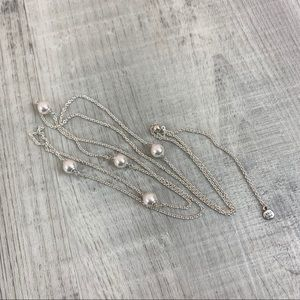 Pandora Luminous Dainty Droplets Necklace